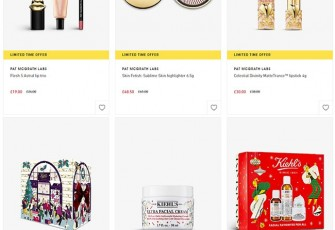 Распродажа на Selfridges, скидки на BeautyBay, Черная пятница на LoveLula, скидки и гуди на Feelunique и Skinstore