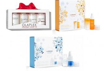 Рождественские промо-наборы Olaplex и Lumene 2020