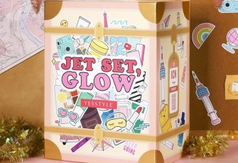 YesStyle Jet Set, Glow Beauty Advent Calendar 2020