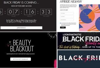 Листы ожидания Черной пятницы на Cult Beauty, Space NK, Feelunique и LookFantastic 2020