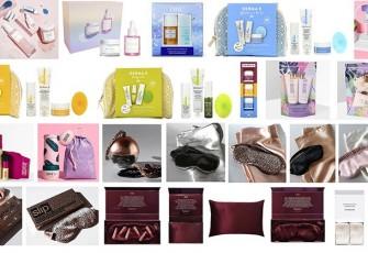 Рождественская коллекция и лимитированные наборы LookFantastic Beauty Box, Slip, Derma E, Coco & Eve, Herbivore, DHC 2020