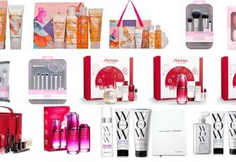 Рождественские лимитированные наборы Real Techniques, Inika, Sanctuary SPA, Shiseido и Color Wow 2021