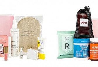 Revolve Clean Beauty Bag и Revolve New Year New Me Beauty Box