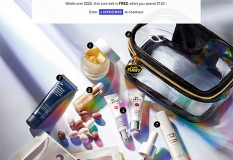 Cult Beauty The Luxe Skin Care Gift Goody Bag