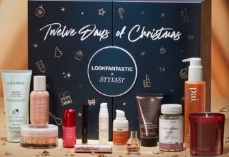 LookFantastic X Stylist Twelve Days Of Christmas Advent Calendar 2021