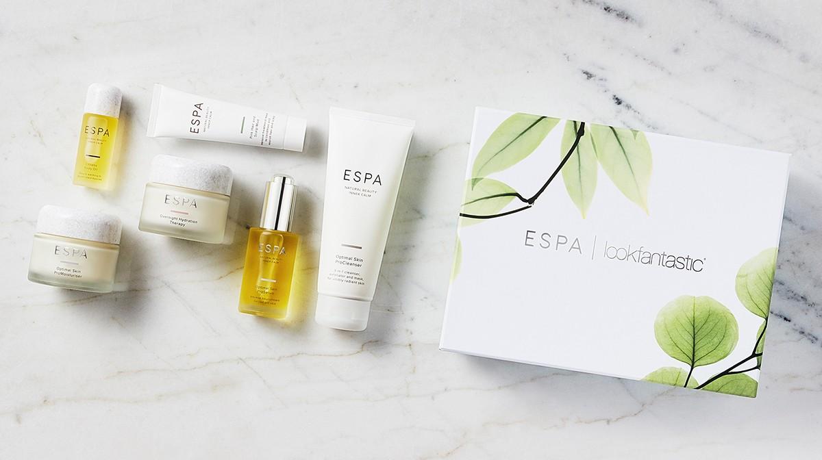 НаполнениеLookFantastic x Espa Beauty Box