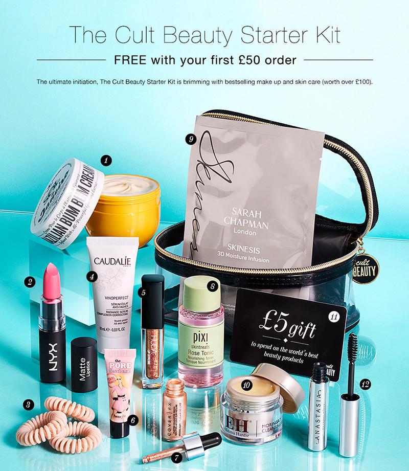 The Cult Beauty Starter Kit