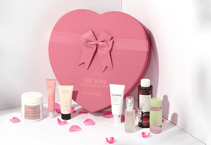 наполнение Lookfantastic Rose Collection Limited Edition Beauty Box