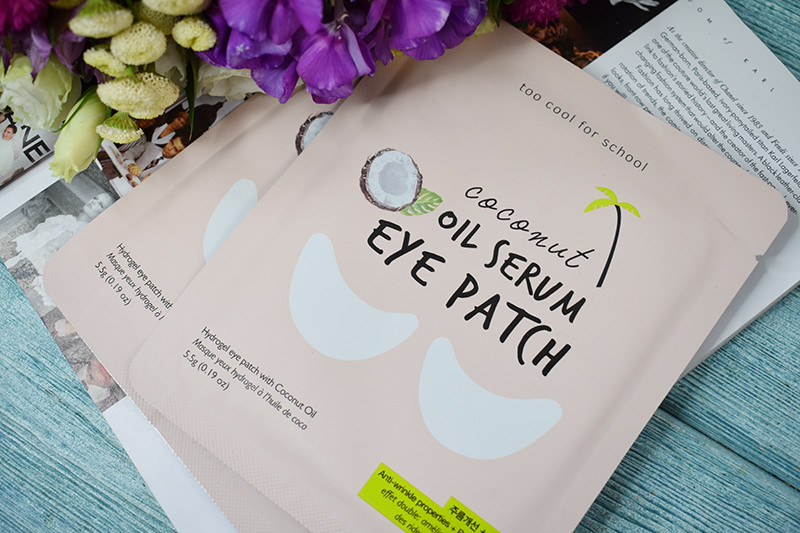 Too Cool for School Coconut Oil Serum Eye Patch