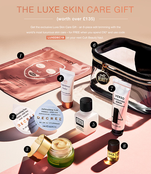 Cult Beauty The Luxe Skin Care Gift