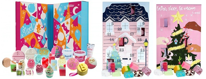 Bomb Cosmetics Advent Calendars 2020