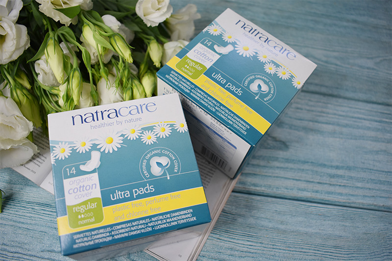 Natracare Ultra Pads Organic Cotton Cover Regular Normal