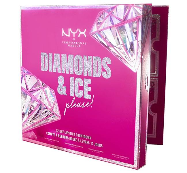 NYX Diamonds and Ice Please 12 Day Lipstick Advent Calendar 2020
