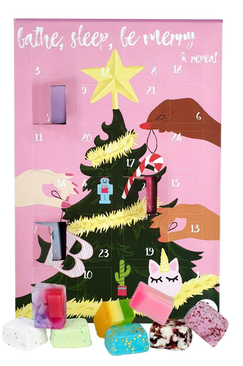 Bomb Cosmetics Bathe Sleep, Be Merry & Repeat Advent Calendar 2020