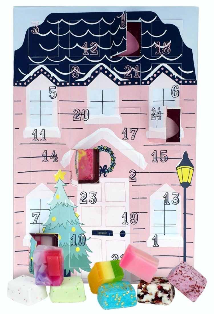 Bomb Cosmetics Santa Stop Here Advent Calendar 2020