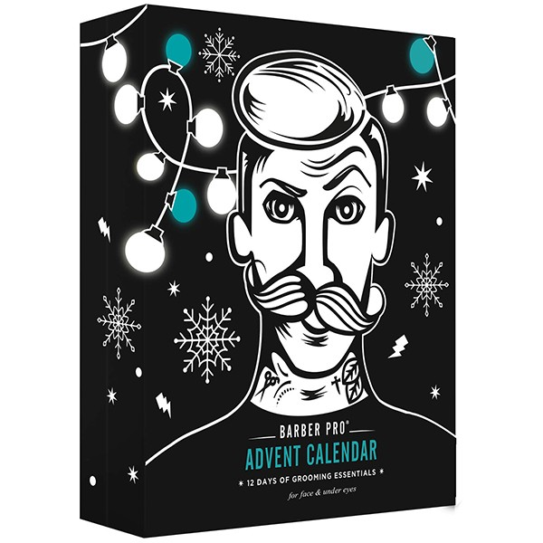 Barber Pro 12 Days Of Grooming Essentials Advent Calendar 2020
