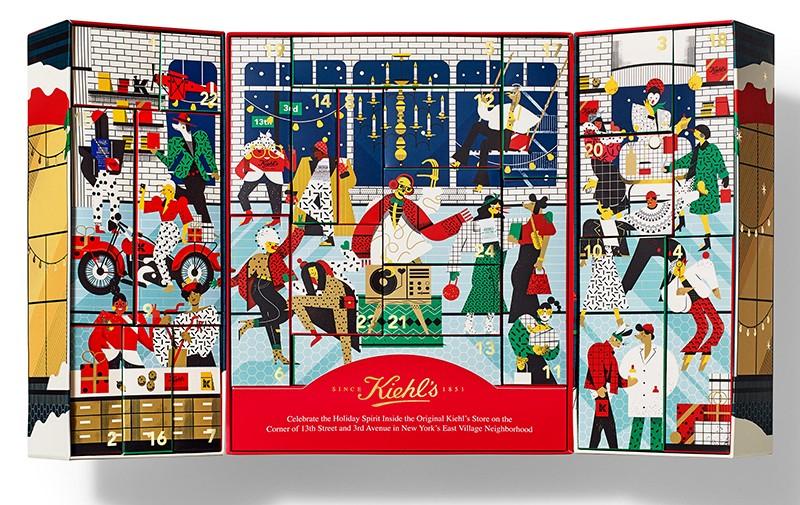 Наполнение Kiehl's x Advent Calendar 2020