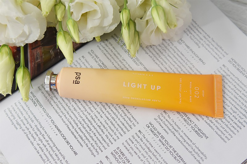 PSA Skin Light Up Vitamin C & E Flash Brightening Mask