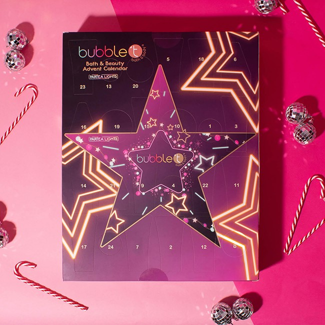 Bubble T Cosmetics Ultimate Star Advent Calendar