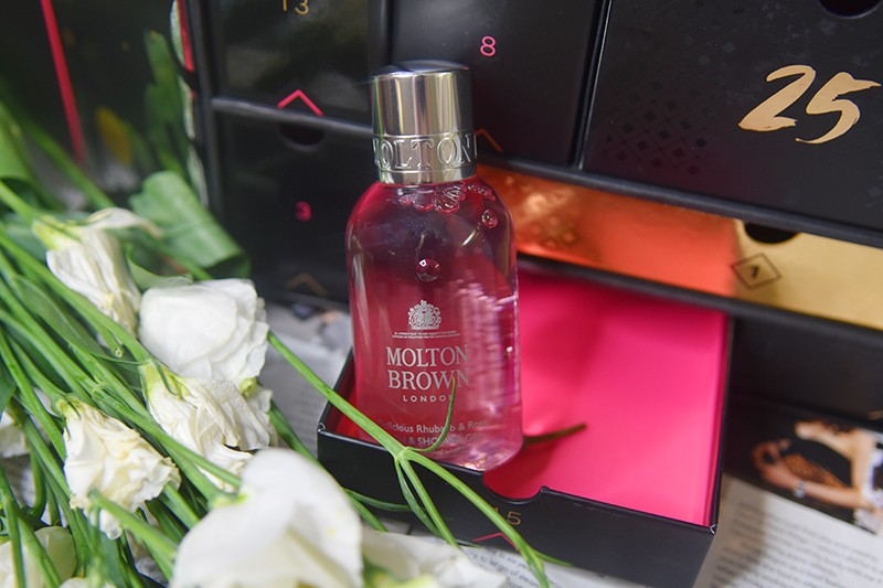 Molton Brown Delicious Rhubarb and Rose Bath and Shower Gel