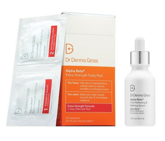 Dr Dennis Gross Alpha Beta Extra Strength Peel and Pore Perfecting & Refining Serum Duo