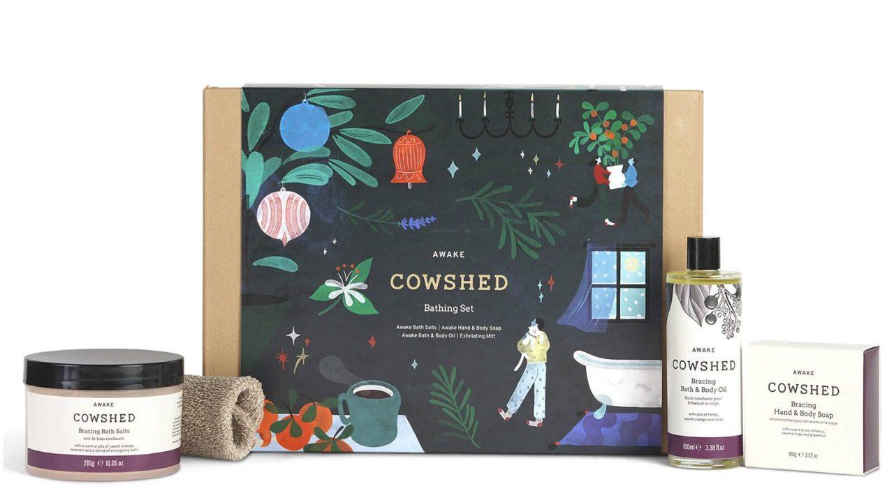 Cowshed Awake Bathing Ritual Kit