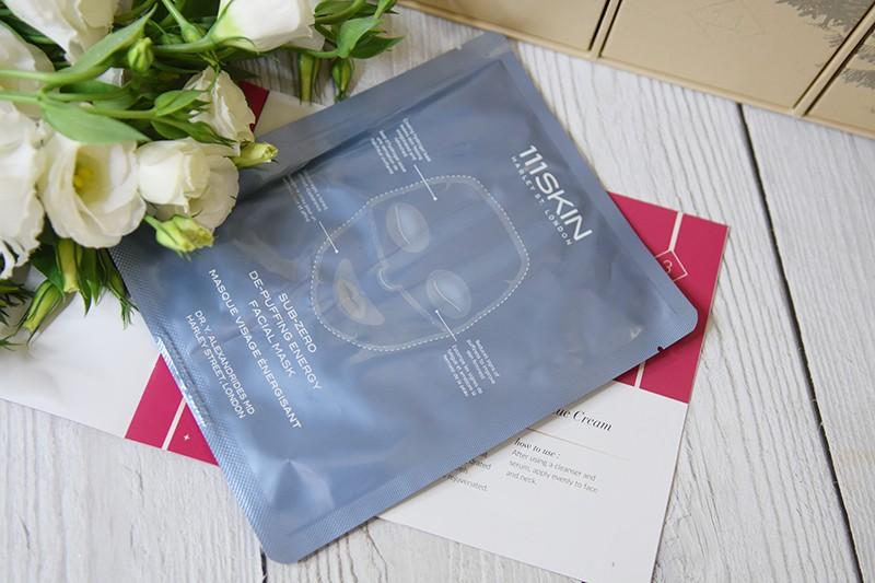 111Skin Sub Zero De-Puffing Energy Mask