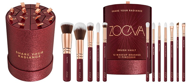 Zoeva Share Your Radiance Brush Vault 2020