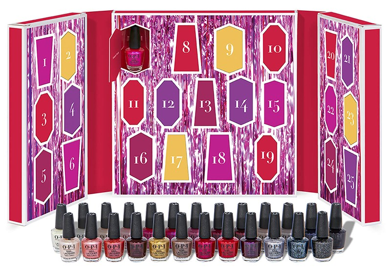 OPI Shine Bright Collection Nail Polish Beauty Advent Calendar