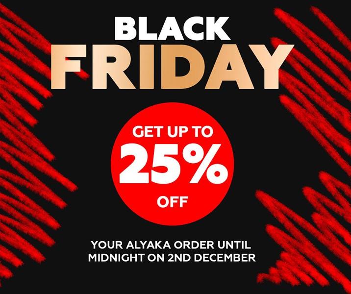 Черная пятница на Alyaka
