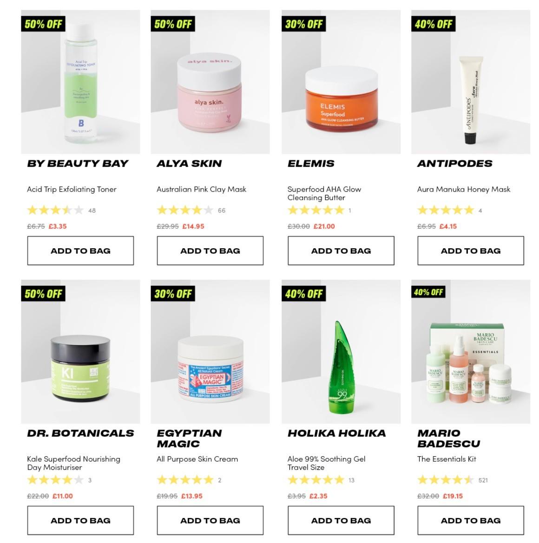 акции на BeautyBay (Черная пятница 2020)