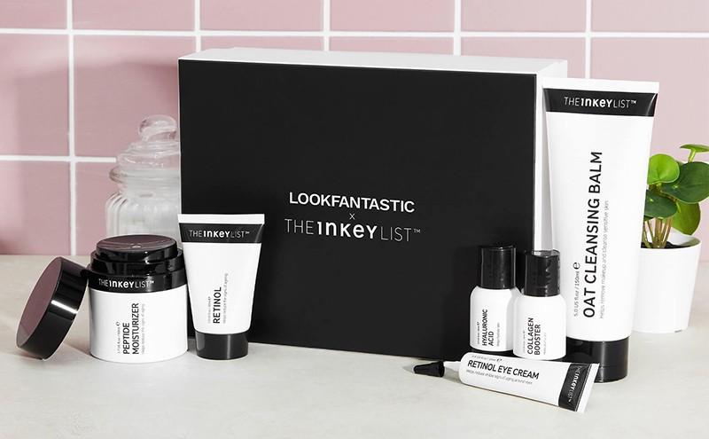 LookFantastic X The Inkey List Anti-Aging/Black Beauty Box