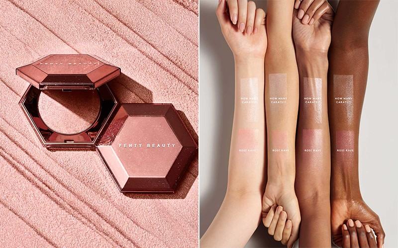 Fenty Beauty Diamond Bomb All-Over Diamond Veil Rosé Rave