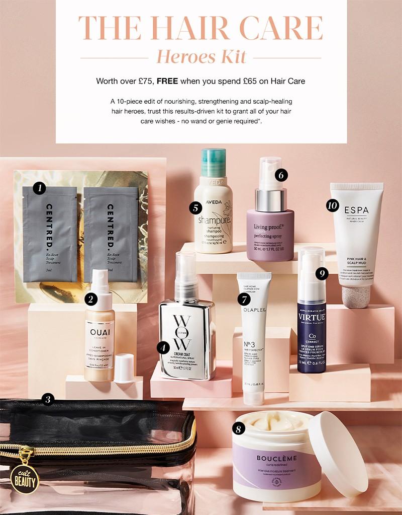 Cult Beauty Hair Care Heroes Kit