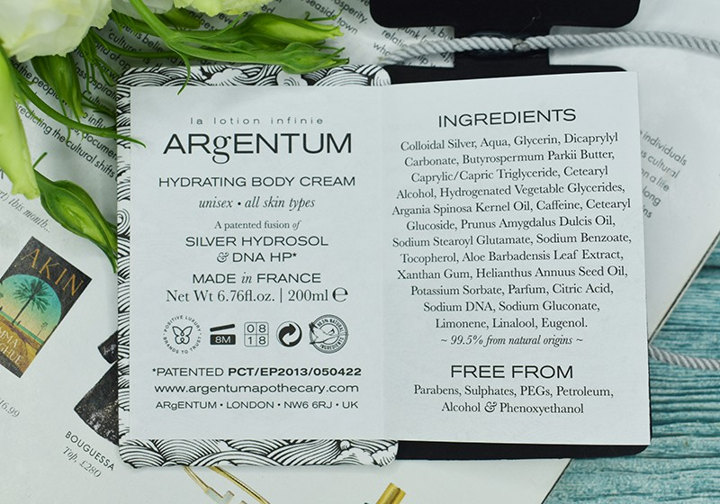 Argentum Apothecary La Lotion Infinie Body Cream отзывы