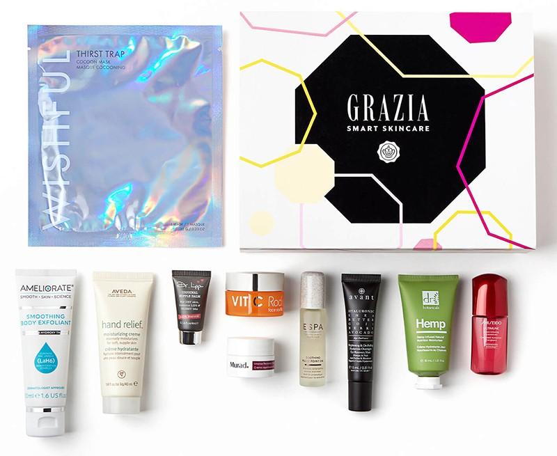 Glossybox x Grazia Smart Skincare Limited Edition