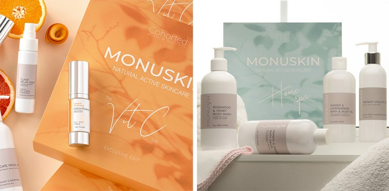 Cohorted Monuskin Beauty Boxes