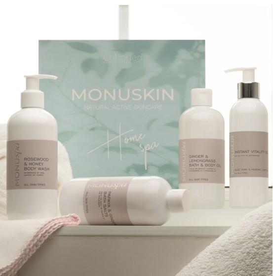 Monuskin Home Spa Beauty Box
