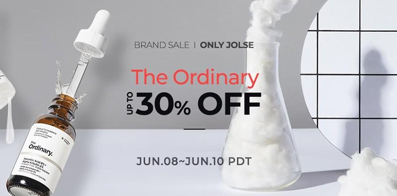 скидка 30% на The Ordinary