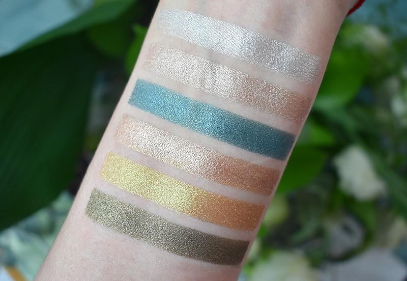 bh cosmetics палетка теней