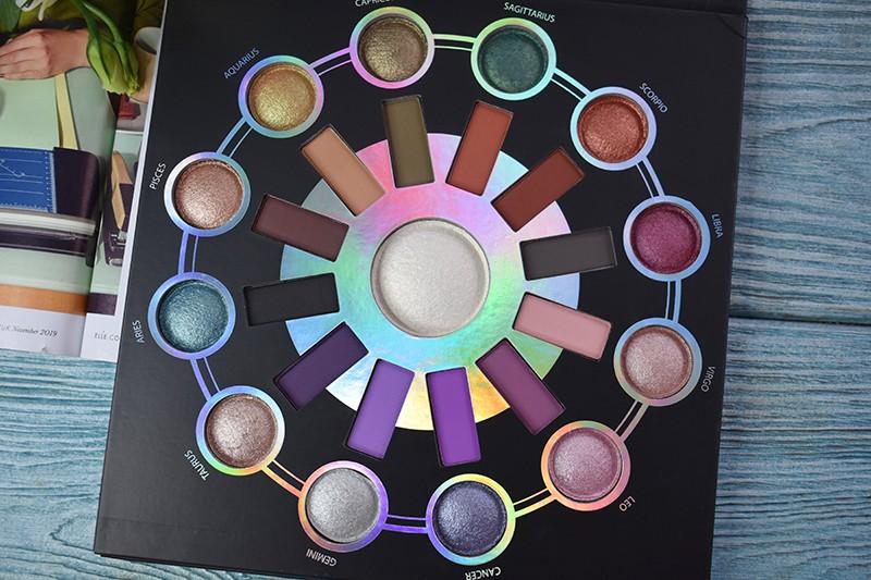 BH Cosmetics Zodiac 25 Color Eyeshadow & Highlighter Palette отзывы