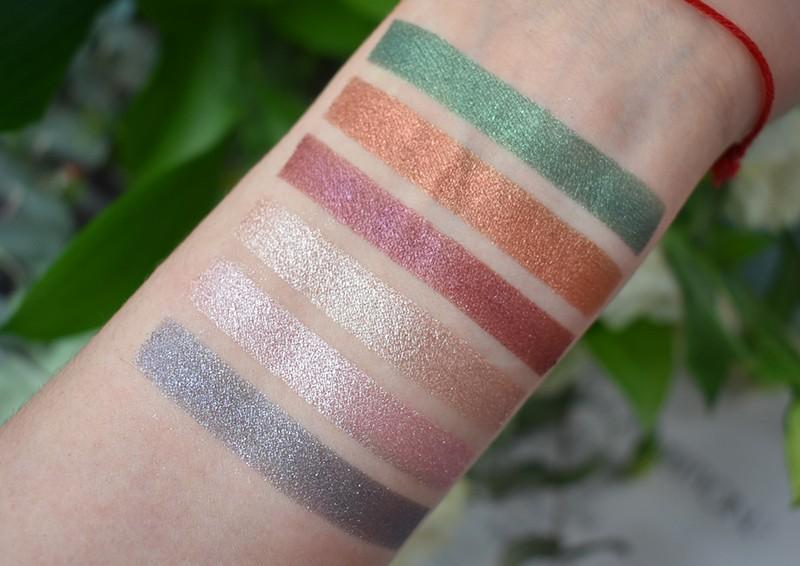 bh cosmetics тени