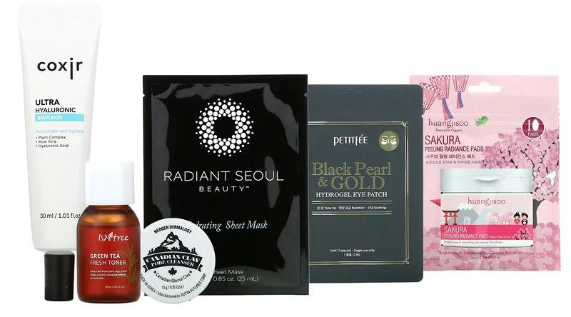 Iherb Promotional Products K-Beauty Box V4 6 Piece Kit