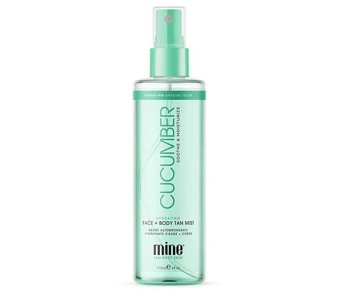 MineTan Cucumber Hydrating Face & Body Mist