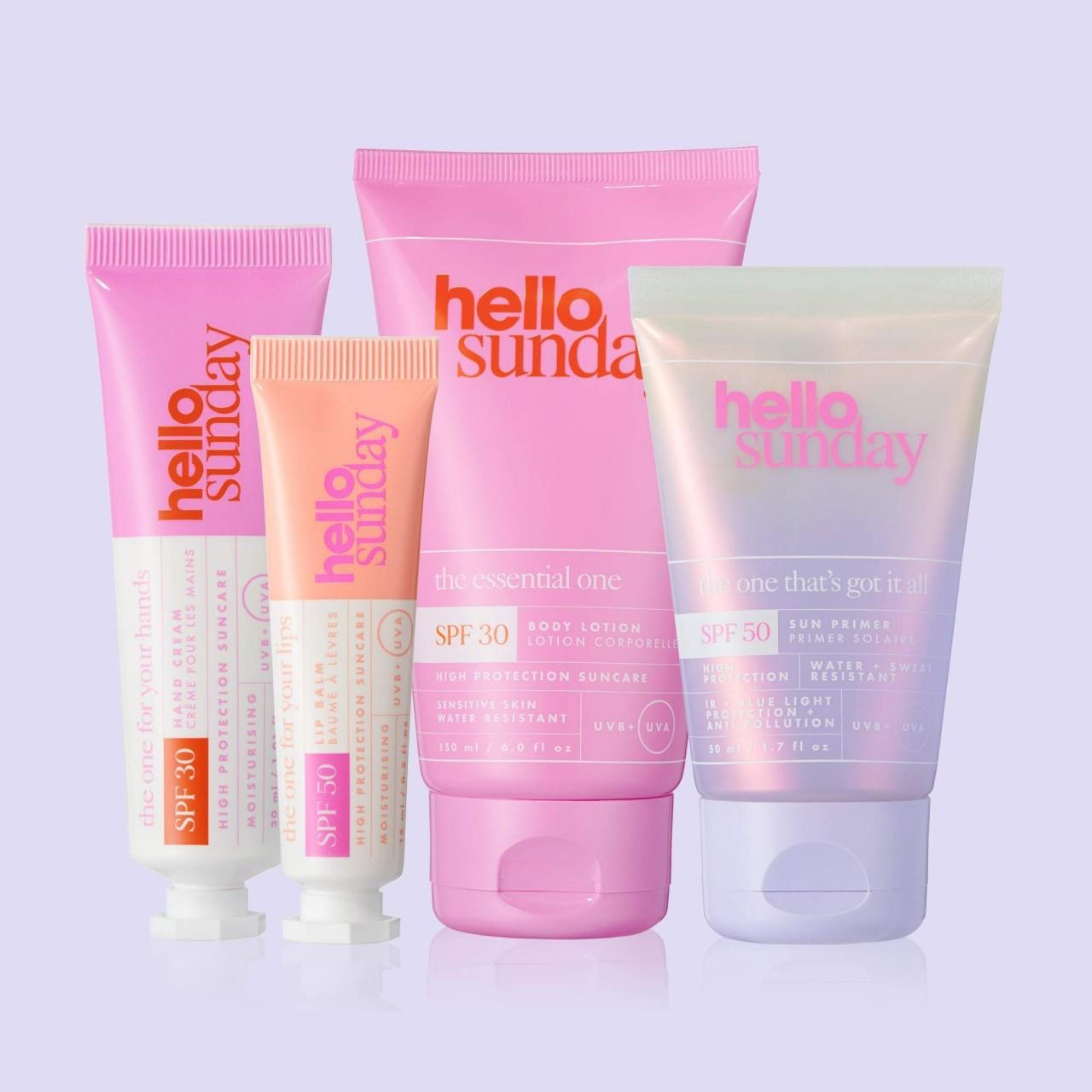 Санскрины Hello Sunday на BeautyBay и Cult Beauty