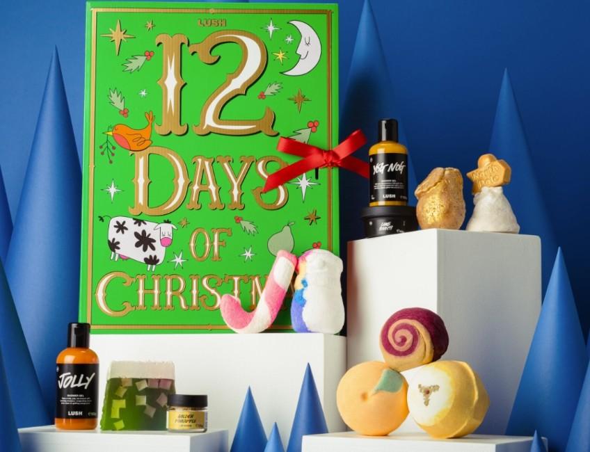 Lush 12 Days of Christmas Advent Calendar 2021