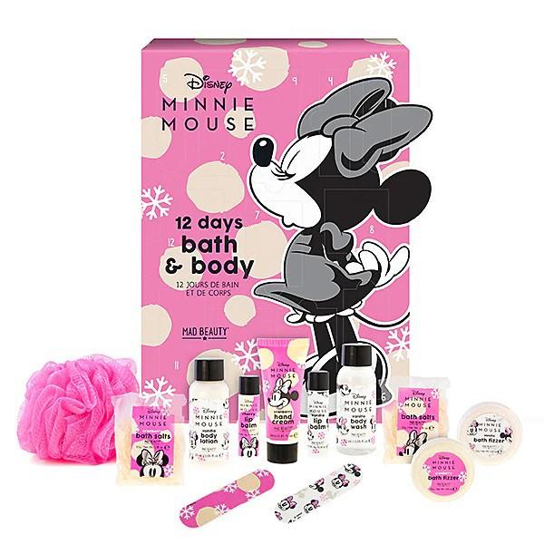 Mad Beauty Disney Minnie Mouse 12 Days Advent Calendar 2021