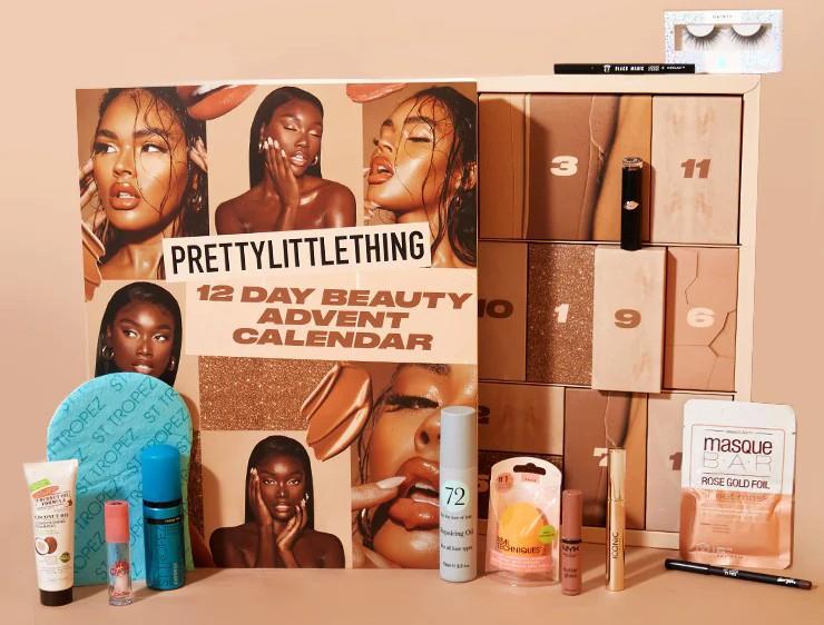 Pretty Little Thing 12 Day Beauty Advent Calendar 2021