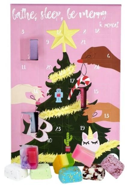 Bomb Cosmetics Bathe Sleep, Be Merry & Repeat Advent Calendar 2021