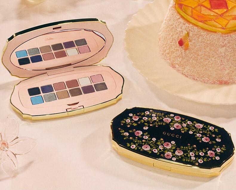 Gucci Beauté Des Yeux Floral Eyeshadow Palette